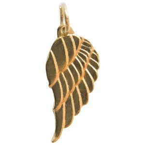 Paper Chic Decorative Wing Charms Gold 5 Pack