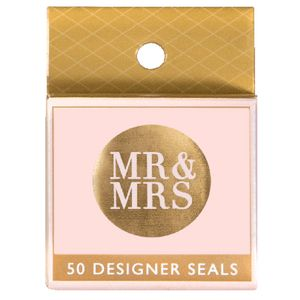 Paper Chic by Cr Mr and Mrs Seals Rose Gold 50 Pack