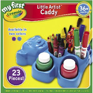 My First Crayola Little Artist Caddy