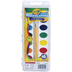Crayola Washable Watercolour Paint 16 Pack | Tuggl