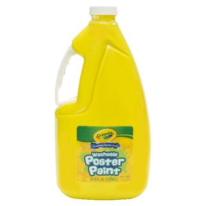 Crayola Washable Poster Paint Yellow 2L