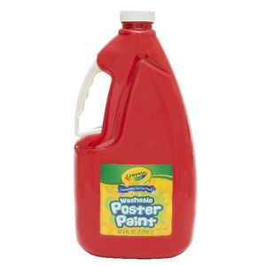 Crayola Washable Poster Paint Red 2L