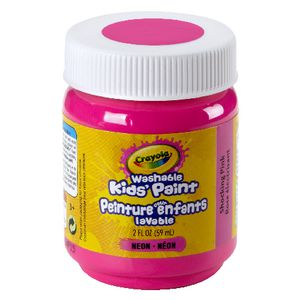 Crayola Washable Classic Kids' Paint 59mL Shocking Pink