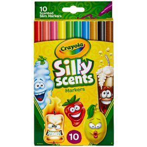 Crayola Silly Scents Slim Markers 10 Pack
