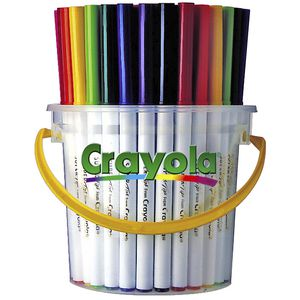 Crayola Super Tips Washable Markers 40 Pack