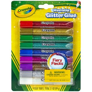 Crayola Glitter Glues 9 Pack