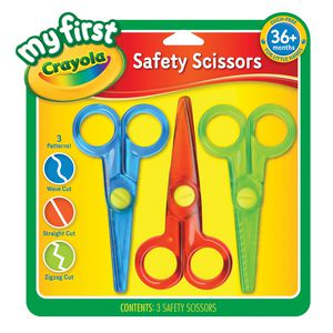 Crayola My First School Safety Scissors 3 Pack