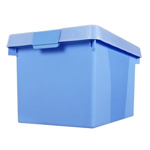 Creation Plastic Easy File N 39 Store 32l Blue Officeworks
