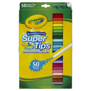 Crayola SuperTips Markers 50 Pack