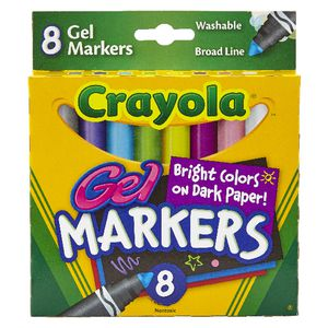 Crayola Washable Gel Markers 8 Pack