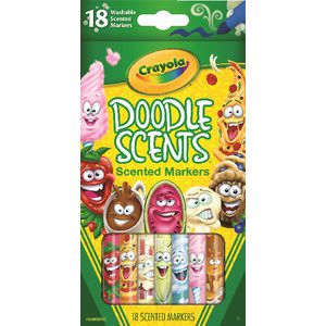 Crayola Doodle Scents Washable Markers 18 Pack