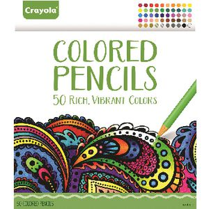 Crayola Coloured Pencils 50 Pack