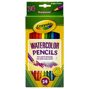 Crayola Watercolour Pencils 24 Pack