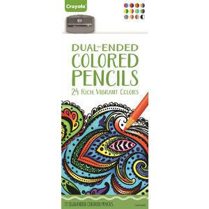 Crayola Dual Ended Pencils 12 Pack