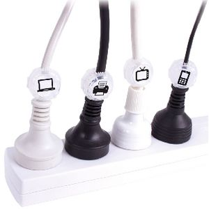 Wrapt Up Jumbo Cord Identifiers 5 Pack