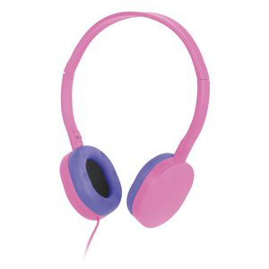 Liquid Ears Volume Limited Headphones Pink