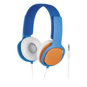 Liquid Ears Volume Limited Headphones with Mic Blue