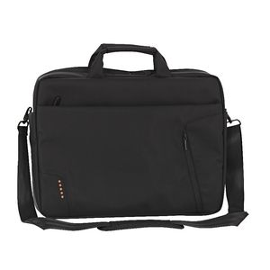 "J.Burrows 17"" Laptop Bag Black"