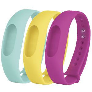 Jolt Fitness Tracker Bands Teal Yellow Fuschia 3 Pack