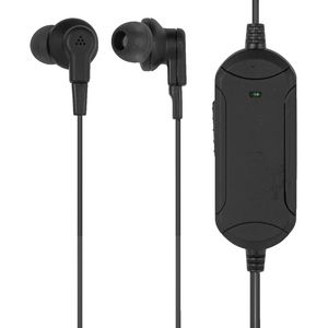 Qudo Noise Cancelling Earphones Black