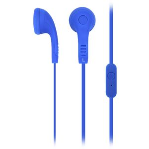 Qudo Earphones with Mic Blue