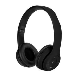 Qudo Bluetooth On Ear Headphones Black