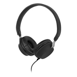 Qudo Lightweight Overhead Headphones Black
