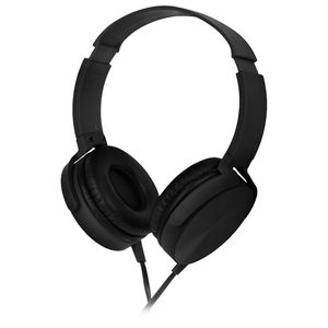 Qudo On Ear Smartphone Headphones Black