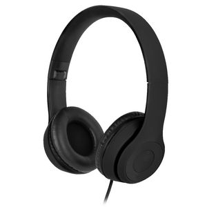 Qudo Premium On Ear Headphones Black