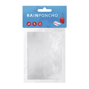 Plastic Rain Coat Clear