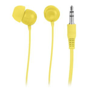 In Ear Headphones Yellow