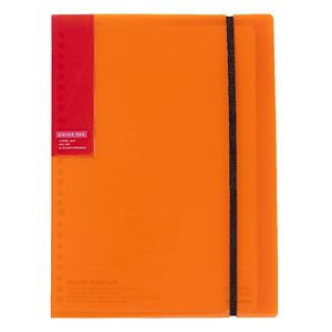 Kokuyo Color Tag Loose Leaf Holder Bi-Color B5 Orange