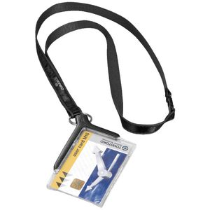 Durable ID Card Holder with Lanyard