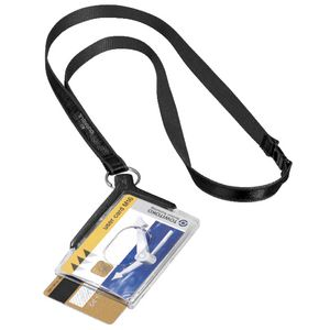 Durable Duo ID Card Holder with Lanyard
