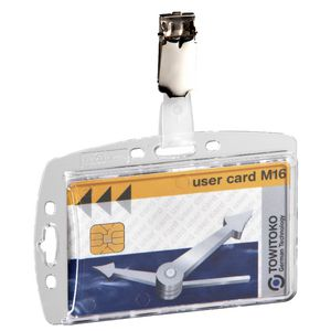 Durable ID Pass Holders 10 Pack | Tuggl