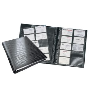 Durable Visifix Business Card Ring Binder