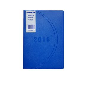 Cumberland A5 Month to View 2016 Desk Planner Assorted