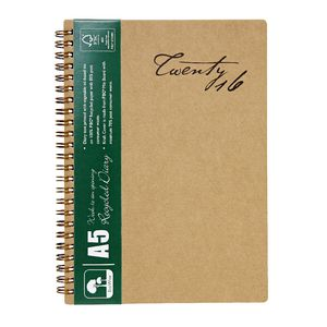 Cumberland Ecowise A5 Week to View 2016 Diary