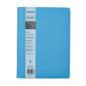 Collins Debden Associate A4 Day to Page 2016 Diary Assorted