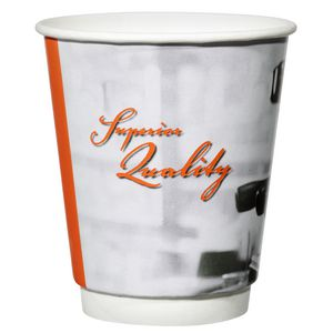 Star Services 340mL Printed Double Wall Paper Cups 500 Pack