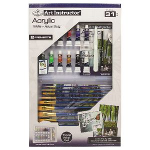 Royal & Langnickel Clearview Travel Artist Set