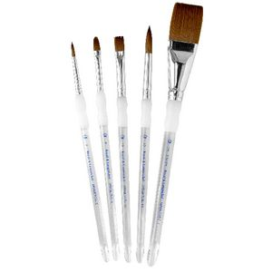 Royal & Langnickel Synthetic Sable Stroke Paintbrush 4 Piece