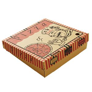 "Star Pizza Box Small 11"" Pack 50"