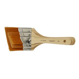Royal & Langnickel Gold Angular Taklon Brush Set 3 Pack