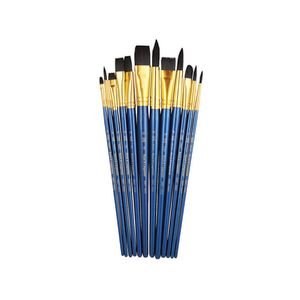 Royal & Langnickel Soft Black Paintbrush Set 12 Piece