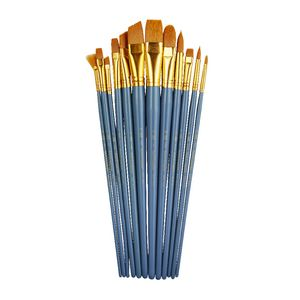 Royal & Langnickel Medium Gold Paintbrush Set 12 Piece
