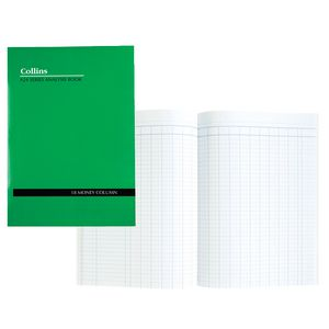 Collins A24 A4 Analysis Book 18 Money Column