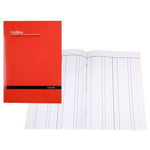 Collins A24 A4 Account Book Double Ledger