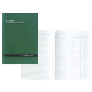Collins A60 A4 Analysis Book 18 Money Column