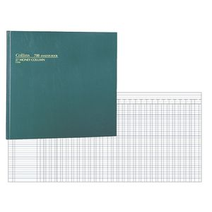 Collins 700 Analysis Book 27 Money Column Green